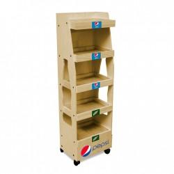 Pepsi Wooden Dumpbin
